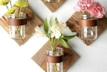 What to do with mason jars / Ideas for things you can do with your empty mason jars