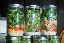 Food to Make in Mason Jars