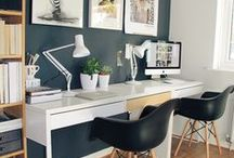 Home Office Decor / As working from home becomes increasingly popular then creating the perfect home office space becomes more important.