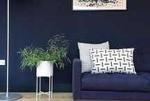 January Blues / From inky schemes that envelop rooms in rich colour to brighter hues that create a warm and lively space, we've curated our very favourite blue interiors and exteriors this January. We hope you'll feel inspired and please do share your own Farrow & Ball home on our Inspiration site or via Facebook and Instagram with #MyFaBHome.