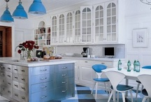 Blue Rooms & More / I love blue and the calm it brings.