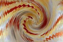 Digital Art / Sono opere digitali nate dall'elaborazione di foto di mie opere su tela.