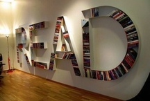 Bookshelves -My Favorites / Places my books could live happily