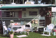 Glamping & Camping Vintage Style! / I really, really want one of the vintage campers!
