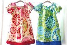 Clothes for girls / Одежда для девочек, которую можно сшить самостоятельно.