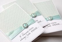 Cards and invitations / by Dorota Rak