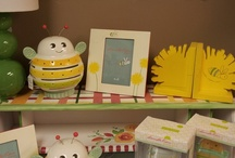 Buzzy Bee & Yellow Posie / We've brought Yellow back into kids rooms with the Buzzy Bee & Yellow Posie Room.  Visit our website to see the complete collection and pricing. www.hungouttobuy.com
