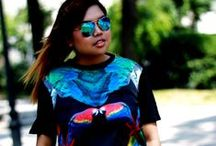 OOTD:Black Short Sleeve Retro Parrot Print T-Shirt / As a kid I grew-up going to my grannies prairie every weekend. During those good old days, me and my cousins will always have this bonding moments to climb trees and look for bird's nest. CLICK FOR QUICK READ >>>http://www.themilanomode.com/2013/06/parrot-shirt.html