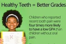 School and Your Teeth / When children go back to school, send them with knowledge to keep their teeth and mouths protected and healthy. From your pediatric dentist locator, Dentists 4 Kids. www.dentists4kids.com #Dentists4Kids #pediatric-dentist