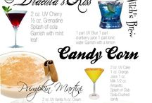 Halloween Drinks / Halloween isn't just about candy- adults can have costume parties with some fun colorful, spooky, tasty drinks.  / by Melissajpeters Peters