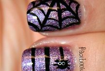 Manicure design ideas / I enjoy taking care of myself and my hubby loves my nails painted but understands it doesn't keep. When I do I go all out. Here are fun looks. / by Melissajpeters Peters