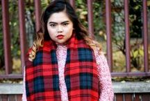 OOTD: Plaid Scarf Jan 30-2014 / >>>http://www.themilanomode.com/2014/01/Chanel.html