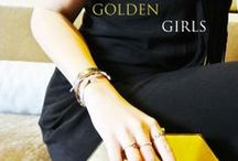 Golden Girls / Who doesn't love some gold jewelry? Bid on these great finds on Nyopoly.com.