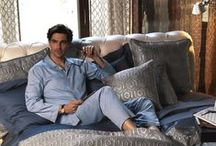 Frette Fashion For Him / Frette's range of laidback-chic loungewear allows you to do nothing, in style.