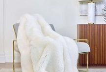 Frette Warm Luxury / Cashmere throws to fall for.
