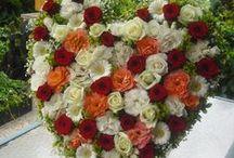 Smuteční floristika  - funeral / Smuteční floristika květiny