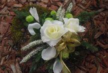 Podzimní -  dušičková floristika / podzimní aranžmá, dušičková floristika