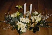 Adventní a vánoční floristika / Adventní a vánoční floristika christmas