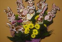Jarní - velikonoční floristika / Jarní -  velikonoční floristika