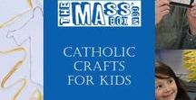Catholic crafts for kids / Looking for some faithful crafting inspiration for your children? This board has it all when it comes to religious crafts.