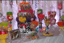 Enticing Candy Buffets / Beautiful and Fun Candy Buffets / by Susan Robbins Mauriello