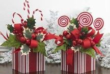 Christmas Decorations / All About The Holidays!! / by Susan Robbins Mauriello