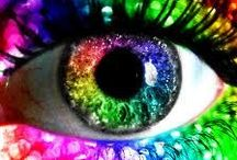 My Eyes See Many Colors / Somewhere Over The Rainbow / by Susan Robbins Mauriello