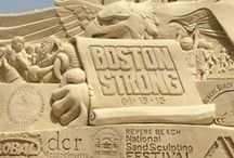 Sculptures in the Sand! / Amazing Talent.... / by Susan Robbins Mauriello