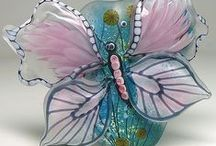 Glass Art!! /  Glass Art Decor of All Kinds / by Susan Robbins Mauriello
