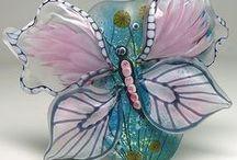 Glass Art!! /  Glass Art Decor of All Kinds / by Susan Robbins Mauriello