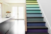 Up The Down Staircase? / ~ All About Stairs ~ / by Susan Robbins Mauriello