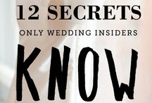 Wedding ::: Preparation / Wedding Tips  / by Elisabeth Price