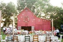 Weddings / Rustic-inspired weddings #vintagewedding #rustic #vintage #wedding #DIY #whimsical #romantic #elegant #charming #rusticwedding