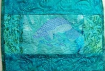 Art Quilts / Embellished Art quilting designs / by Terri Hanson
