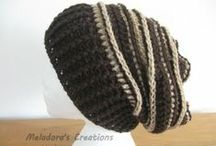 Crochet Hats & Scarves / by Meladora's Creations