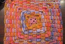 Crochet Granny Squares & Hexagon Motifs / by Meladora's Creations