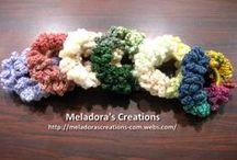 Crochet Headbands & Hair Accessories