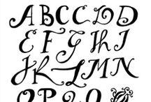 Type & Letters / by Amelianne McDonnell