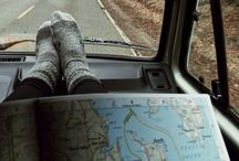 wanderlust / Beautiful views, open roads, maps, getting lost, places to visit for when the travel bug hits.