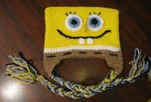 Crochet Characters Hats / This board is for all the charater hats out there, great hats for halloween as well