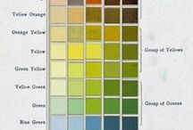 Color Combinations / This board was made to help you find the right colors for that project!