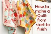Quilting tips / by Terri Hanson