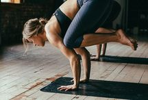 wellness / Yoga poses, health and fitness inspiration.
