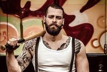 Lumbersexual / beautiful beards.