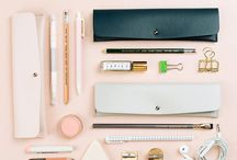stationery / Notebooks, pens and desk essentials.