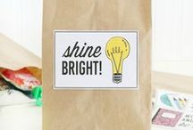 Back To School / Lots of fabulous back to school gift giving ideas, printables, and projects for teachers and kids.