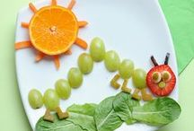Fun Food Ideas / Play with your food! / by Joyce Of Childhood Beckons