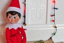 Elf on a shelf ideas / So many awesome Elf of The Shelf ideas.