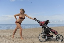 Strollnetics Fitness for Moms / Invisible Fitness Exercises with the baby strollers!