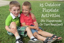 The Great Outdoors / Fun ideas for the great outdoors! / by Joyce Of Childhood Beckons